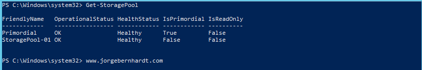 How to create a Virtual Disk using PowerShell » Jorge Bernhardt
