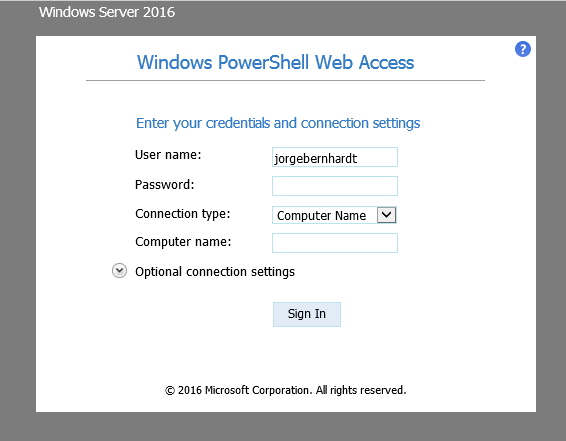 How to install the Windows PowerShell Web Access Gateway