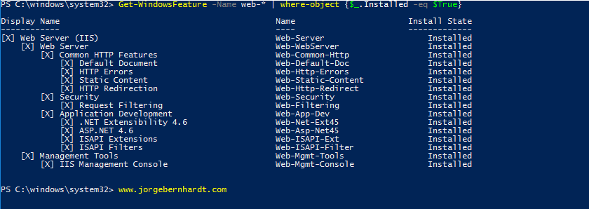 How to install the Windows PowerShell Web Access Gateway » Jorge