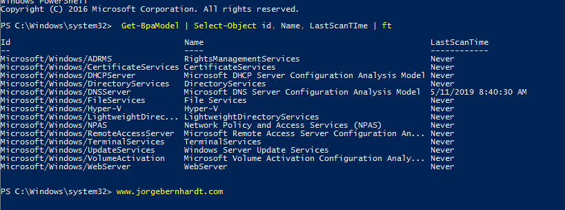 Using PowerShell to Create BPA Reports in HTML Format